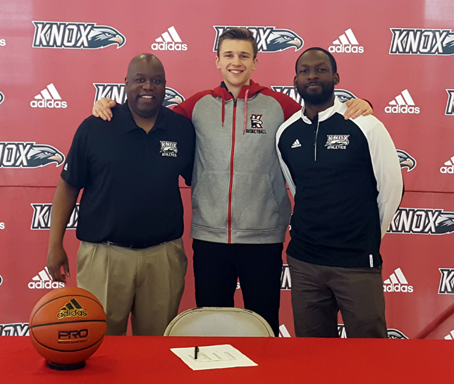 Knox Shooting Guard Laurynas Stonkus Signs NLI To NYIT