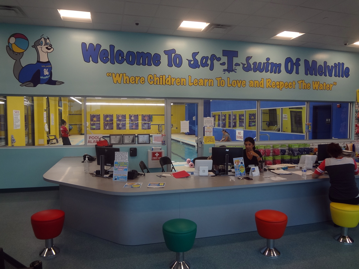 Saf t swim to hold grand opening of melville location swim school celebrates thirteenth for Levittown pools swimming lessons