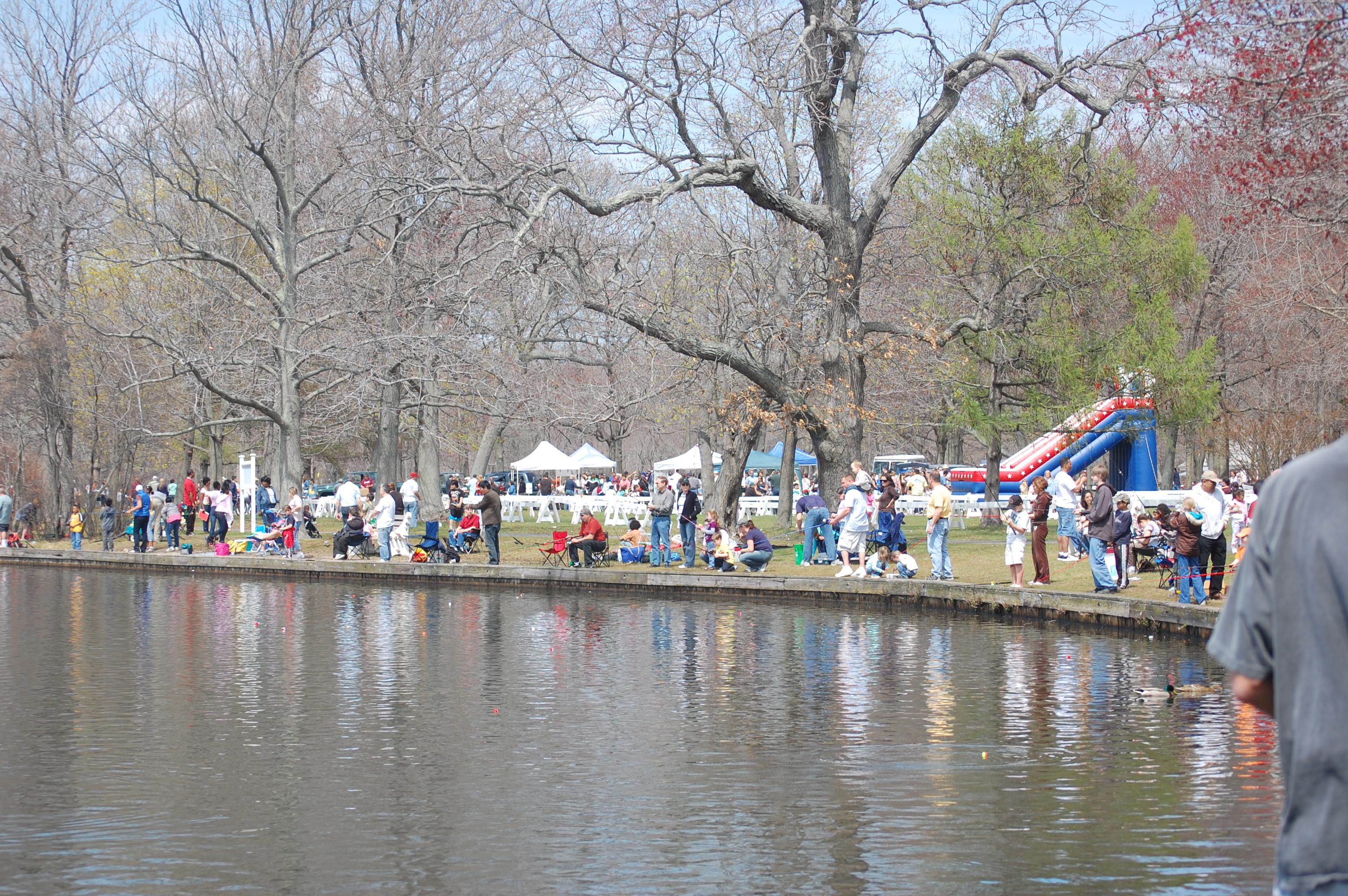 State to sponsor family fishing festival at belmont lake for Freshwater fishing long island