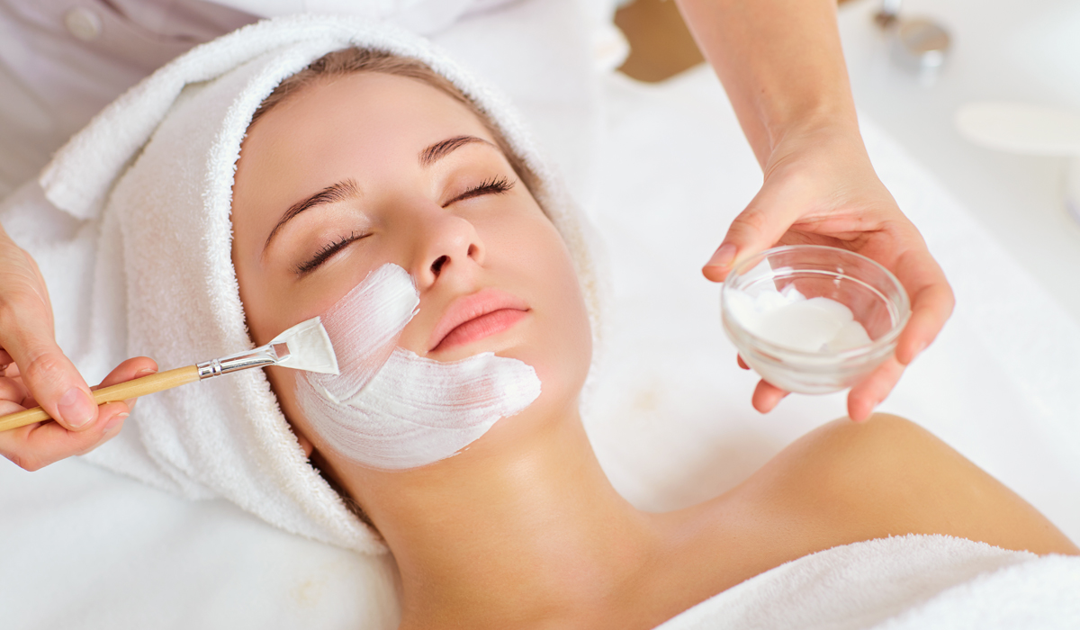 What happens during a chemical peel procedure?