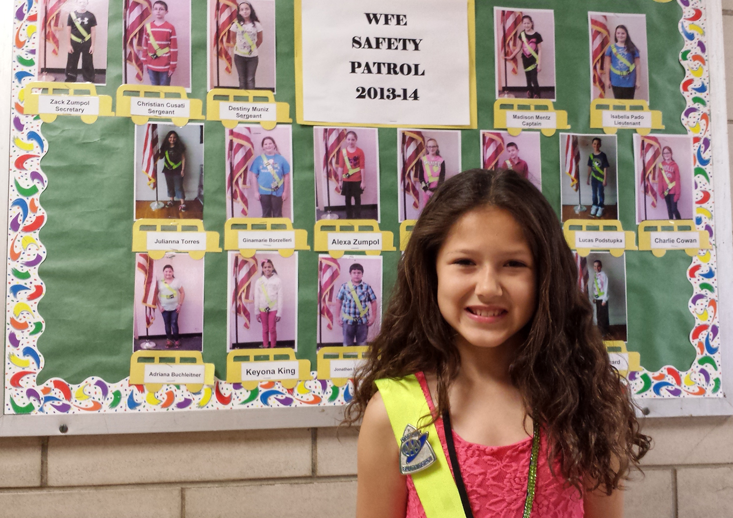 william floyd elementary student d aaa safety patroller of the photos