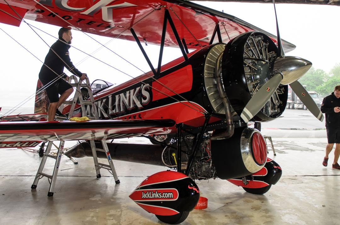 Screamin Sasquatch Jack Link S Jet Waco To Make Rare Air