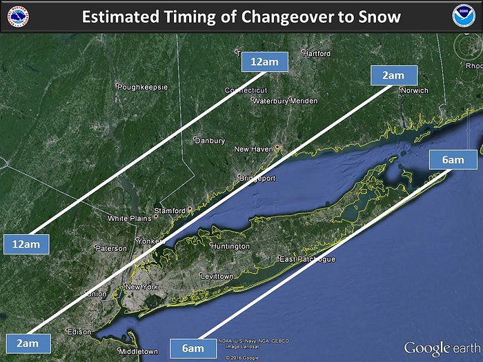 Winter Storm Likely to Dump More Snow on Long Island
