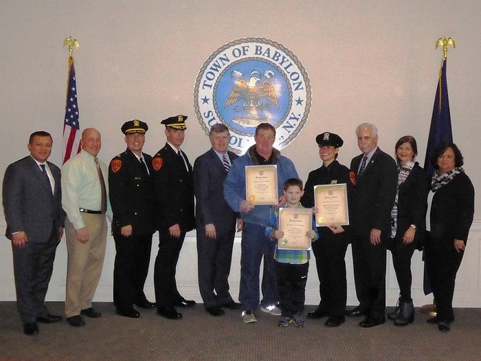 Suffolk County Legislator McCaffrey Honors Local Heroes
