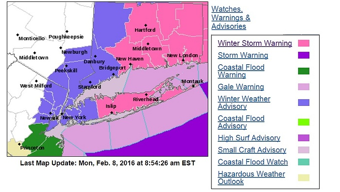 Winter Storm Mars Slams LI Monday Morning, More Snow on Way For Rest of Week