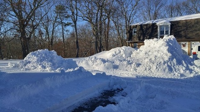 Winter Storm Mars Snowfall Totals: 6 Inches Hit the East End
