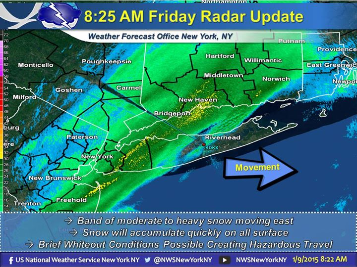 Long Island School Closings And Delayed Openings