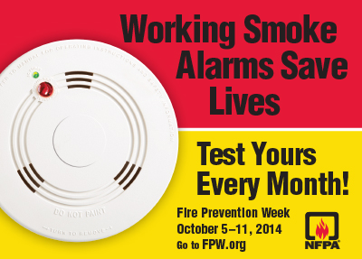Fire Prevention Week Protect Your Family By Testing Your