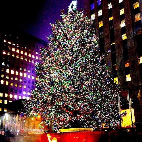 The 2015 Rockefeller Christmas Tree Lighting 2015: Kicking
