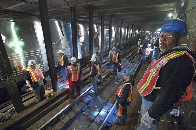 Nyct track worker