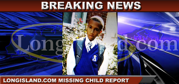 ebacafef12a6 CANCELLED - Missing Juvenile Alert  13-Year-Old Boy Last Seen Dropped Off  at School in Hempstead Missing