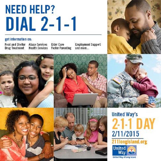 2-1-1 Long Island Database: When You Need Help. Get Connected. Get Answers