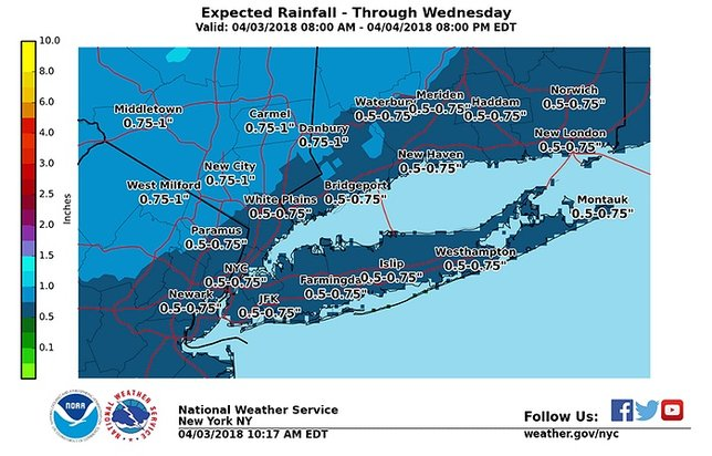 National Weather Service Issues Long Island Wind Advisory For