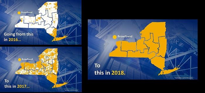 Governor Cuomo Announces Sweeping Progress Towards Nation-Leading Goal of Broadband for All   LongIsland.com