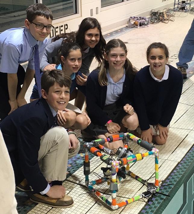 GVS Sixth Graders Venture Underwater Using Self-Built ROVs