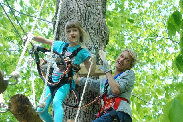 Long Island S First Aerial Forest Adventure Park To Open In Wheatley Heights June 21 Longisland Com