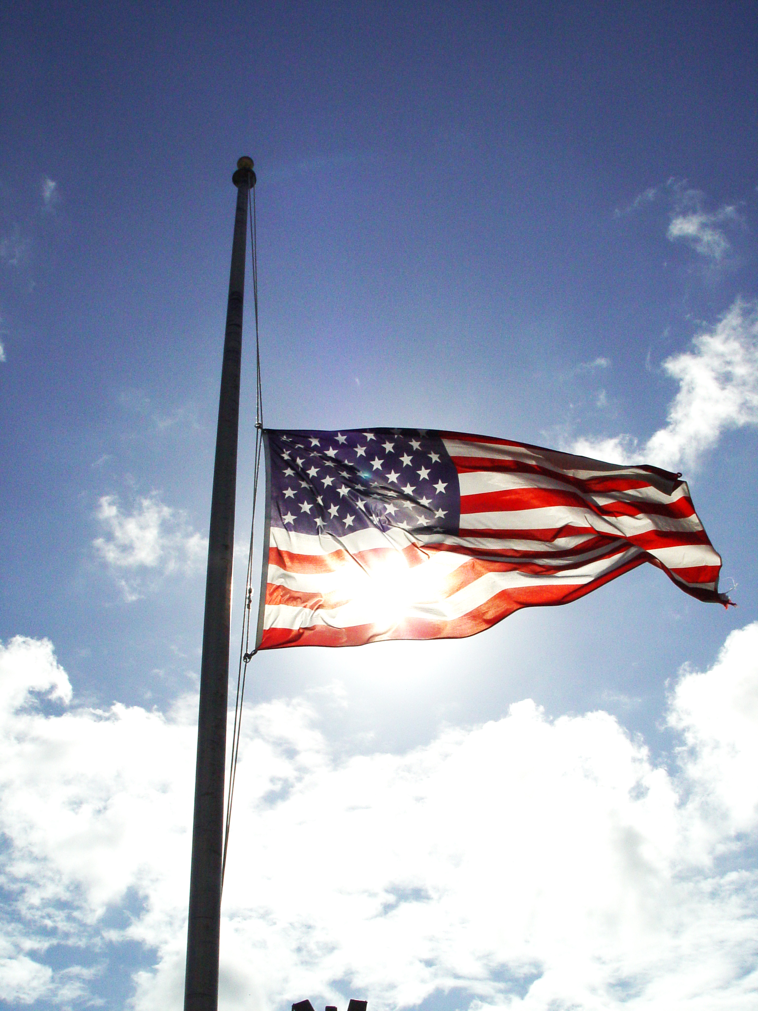 Governor cuomo directs flags to half staff for Flag etiquette at home