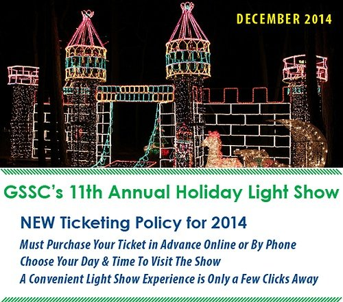 gssc s annually holiday light show introduces new on line