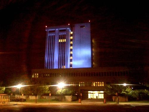 Suffolk County Illuminates Dennison Building in Blue in ...