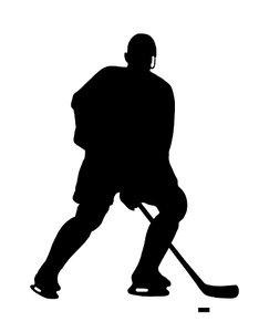 New York Islanders Silouetee