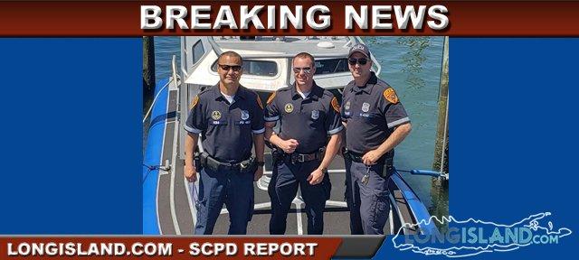 Long Island Bureau.Scpd Marine Bureau Officers Rescue Kayaker In Long Island