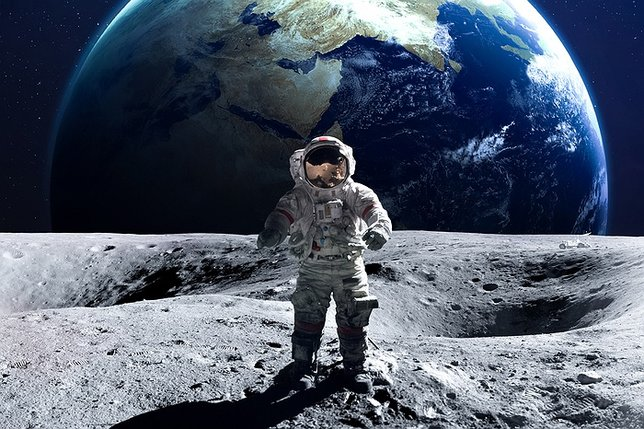 Moon landing: 'Mystifying material' released by NASA featured 'shaky video and whistling'
