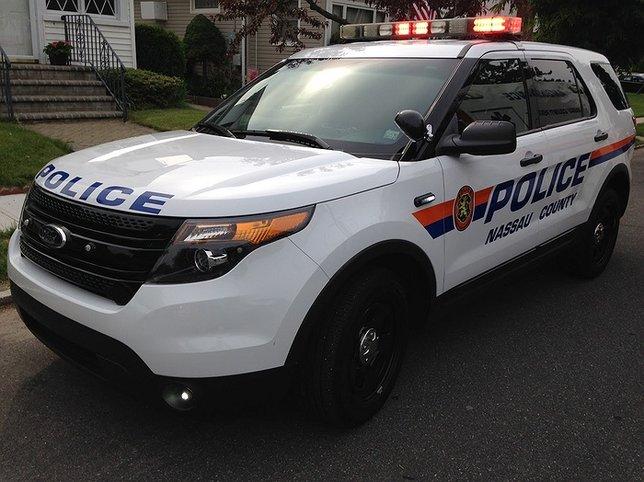 Nassau County Edward P  Mangano and Acting Police Commissioner