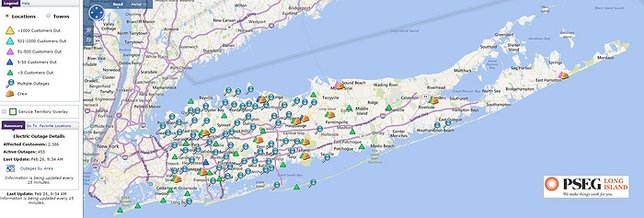 PSEG Long Island Storm Update: Power Restored to 97% of Long ...