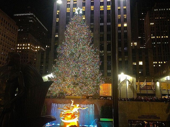 the 2015 rockefeller christmas tree lighting kicking off the holiday season brightly in nyc
