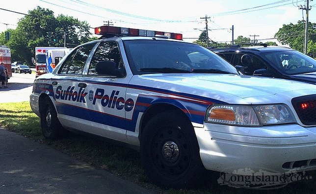Commissioner sini to commend two suffolk police officers for Motor vehicle long island