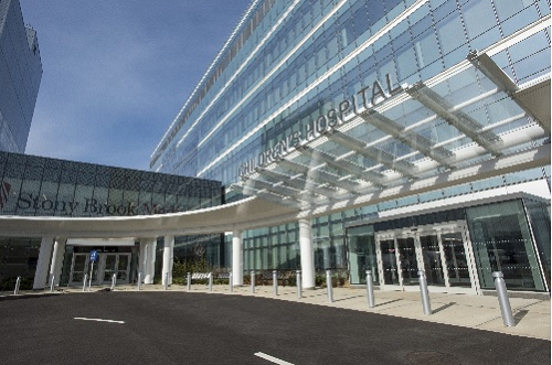 Stony Book Cuts Ribbon on New Children's Hospital