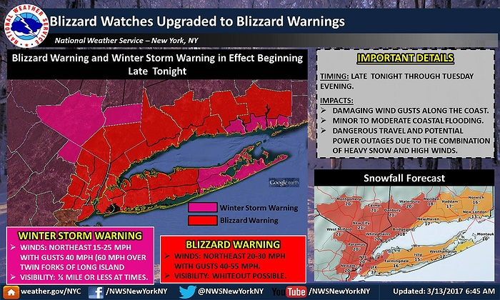 Used Cars Long Island >> Blizzard Watch Updated To Blizzard Warning As Winter Storm ...