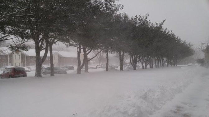 Days Of Snow Accumulation Long Island