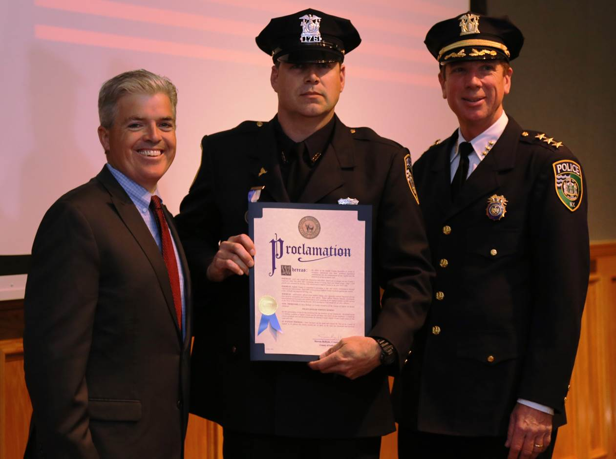 Police Cars For Sale >> Bellone Honors Top Cops   LongIsland.com