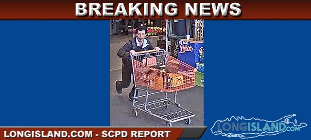 Suspect Wanted by SCPD for Stealing Nearly $1,000 in Tools from Home