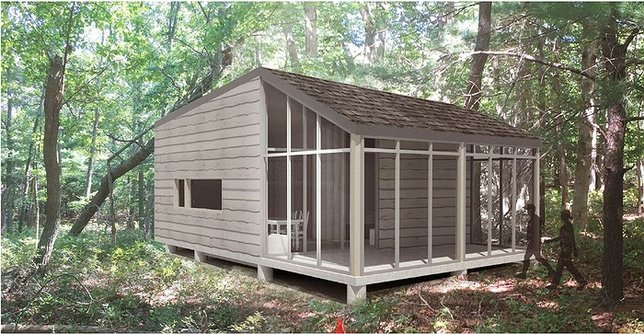 Delicieux NYS Parks To Build First Vacation Cabins And Cottages At Long Island State  Parks