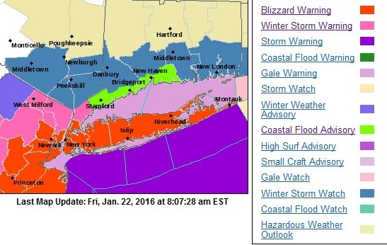 nws issues blizzard warning for long island as winter storm jonas approaches