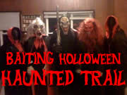 Baiting Holloween Haunted Trail
