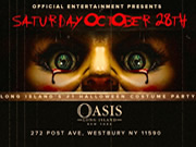Halloween Costume Party at Club OASIS