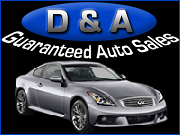 D & A Guaranteed Auto Sales
