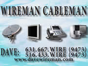 Wireman Cableman TV Installations
