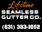 Lifetime Seamless Gutters