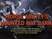 HorseAbility Haunted Hay Barn