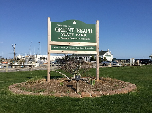 Orient Beach State Park In Long Island NY
