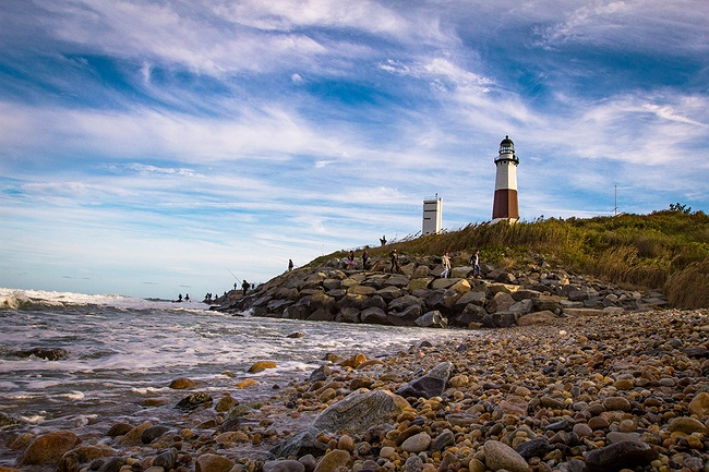 Montauk Point Lighthouse in Long Island, Montauk, None