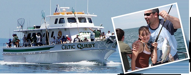 Celtic quest fishing charters in long island port for Celtic quest fishing