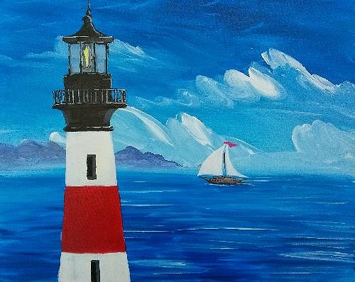 Best Used Sports Cars >> Paint Nite: Windy Lighthouse