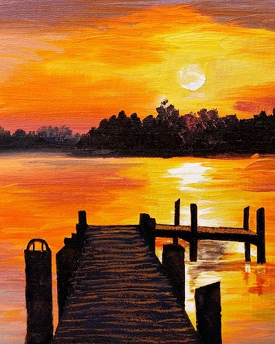 Used Cars Long Island >> Paint Nite: Sunset Dock