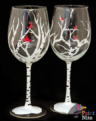 What Do You Need To Paint On Wine Glasses