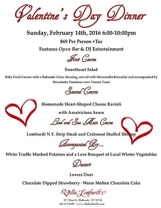 valentine's day dinner and dance, Ideas